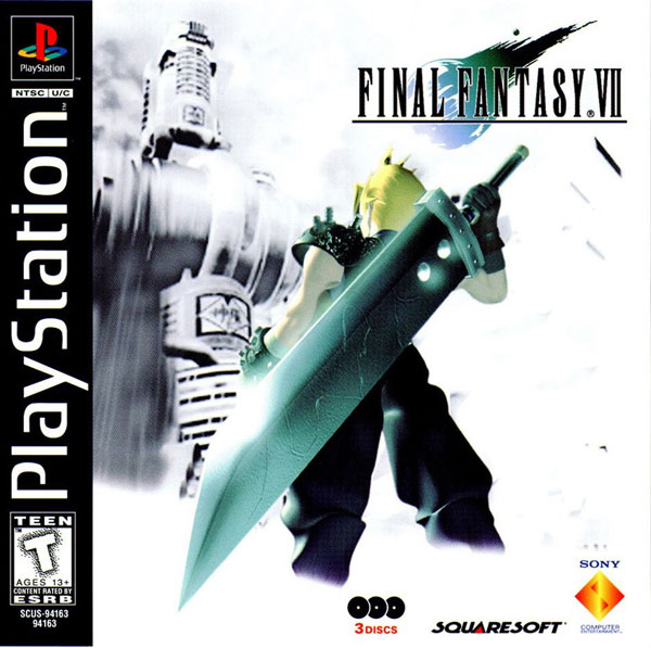 Final Fantasy VII [NTSC-U] [Disc1of3] Front Cover